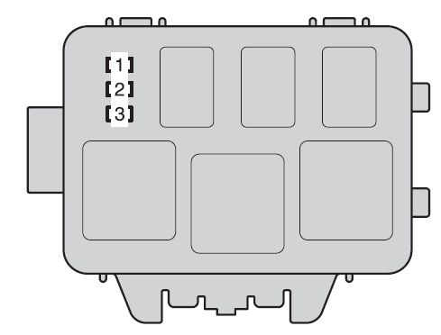Toyota highlander hybrid fuse box engine compartment type b toyota highlander hybrid (2008) fuse box diagram auto genius toyota highlander fuse diagram at fashall.co