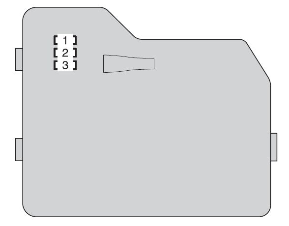 toyota highlander (xu40; 2009 - 2010) - fuse box diagram ... 2012 highlander fuse box diagram #10