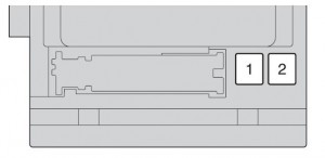 Toyota Highlander mk2 - fuse box - instrument panel (front side of fuse block)