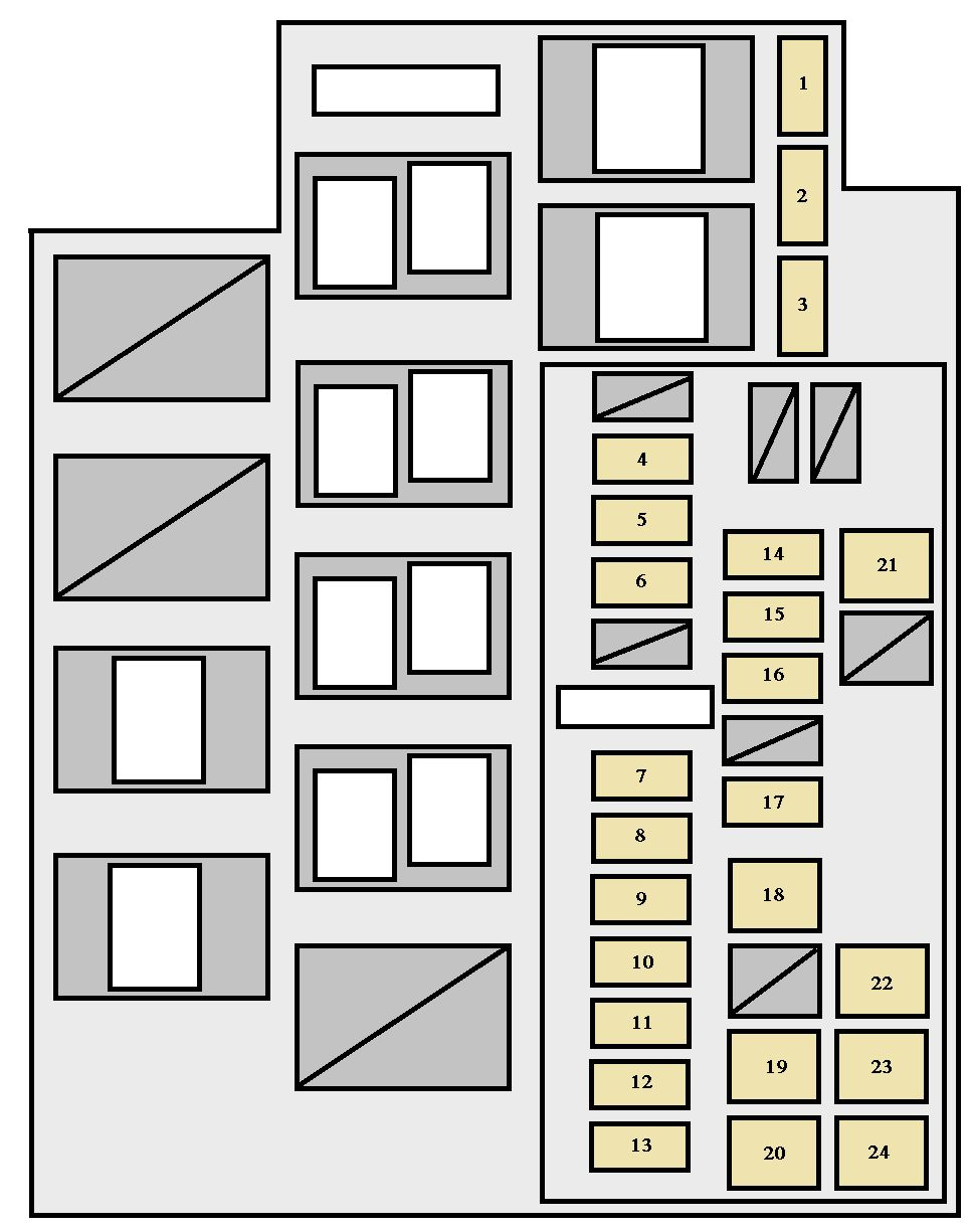 2008 toyota avalon fuse box diagram free download wiring. Black Bedroom Furniture Sets. Home Design Ideas