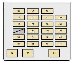 2002 toyota fuse box diagram toyota sequoia (2001 - 2002) - fuse box diagram - auto genius
