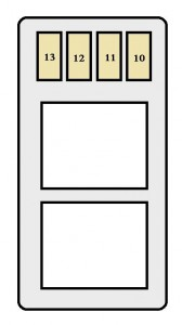 toyota tercel fifth generation mk5 l50 1994 1999 fuse box diagram auto genius
