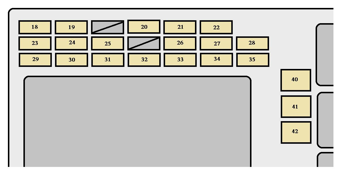 Toyota Corolla (2007 - 2008) - fuse box diagram - Auto Genius