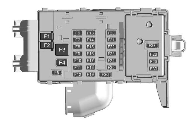 cadillac ct6 sedan (from 2016) - fuse box diagram - auto genius instrument panel fuse box