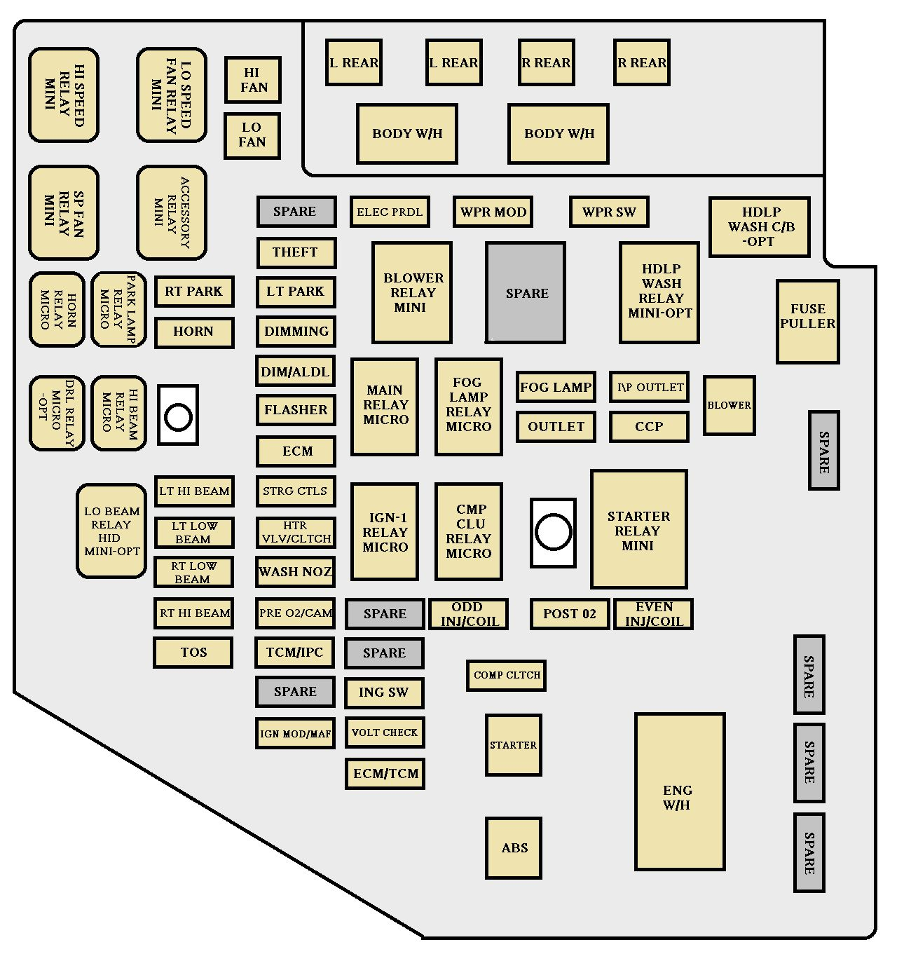 together with Dodge Stratus 2 4 2009 7 furthermore Cadillac CTS mk1 fuse box engine  partment 2005 furthermore  further  together with  additionally maxresdefault furthermore 2006 chrysler 300c fuse box diagram 3 in addition  furthermore image E 2 as well . on chrysler sebring 2 4 engine diagram