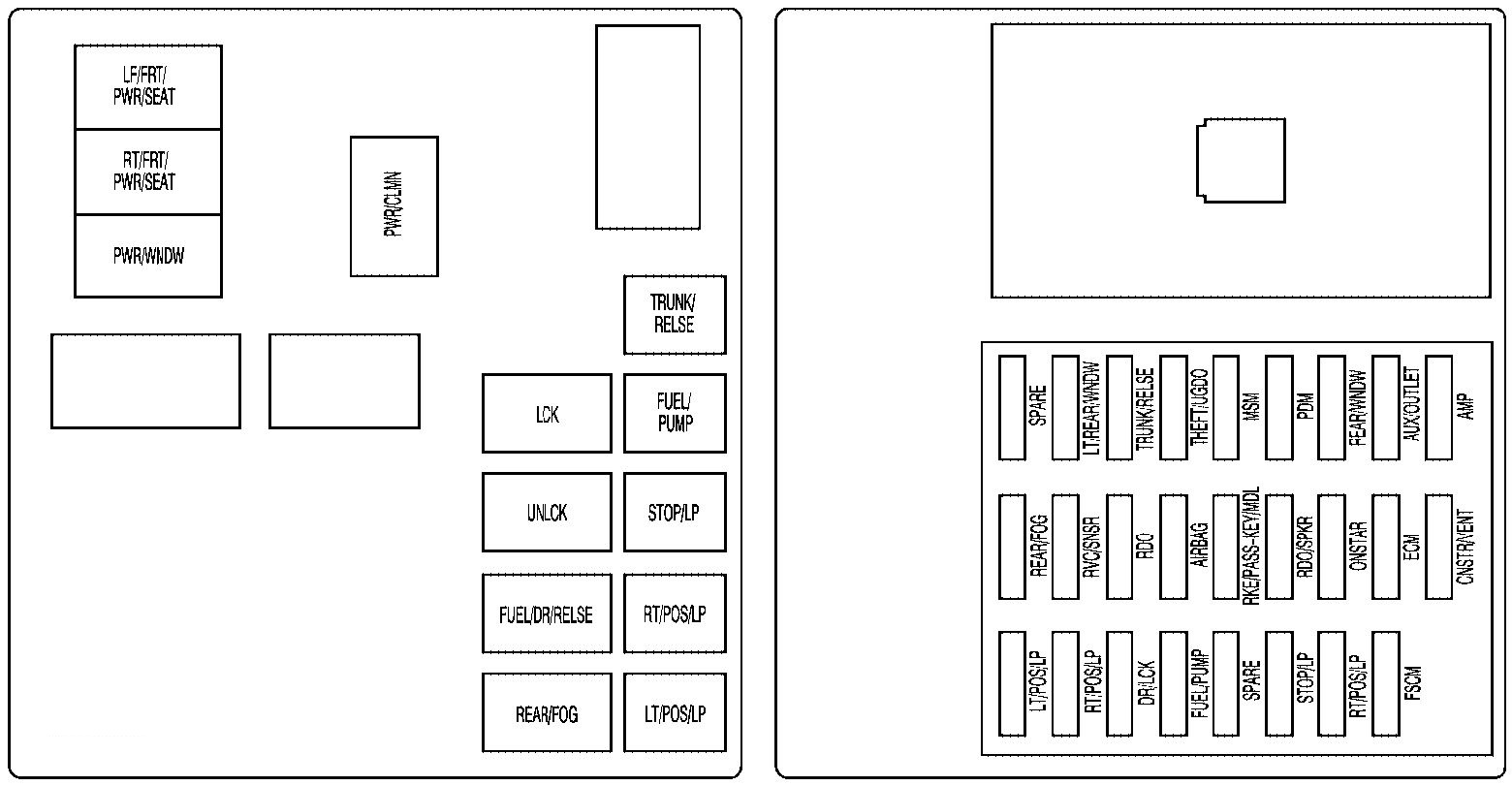 2010 cadillac srx fuse box located   34 wiring diagram