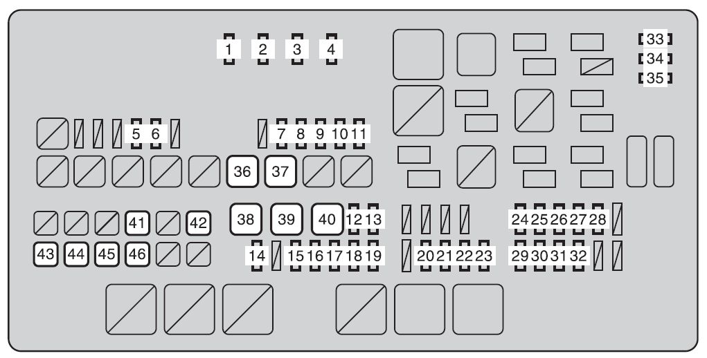 Toyota tundra mk2 fuse box engine compartment 2010 toyota tundra second generation mk2 (2010) fuse box diagram toyota fuse box diagram at n-0.co