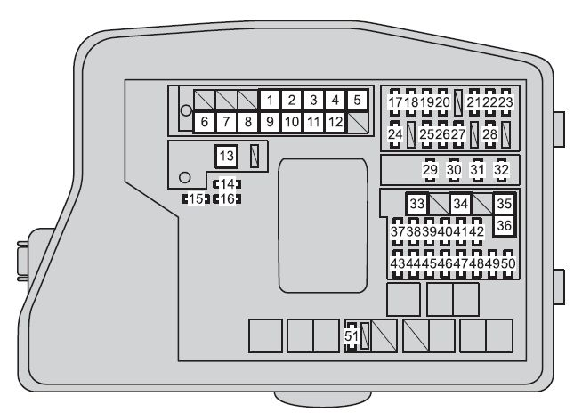 toyota verso fuse box diagram toyota verso (2012 - 2013) - fuse box diagram - auto genius toyota tacoma fuse box diagram fuse injector #2
