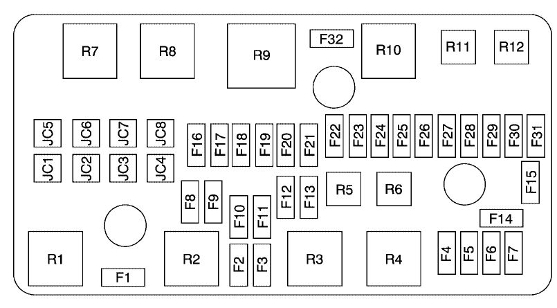 [SCHEMATICS_43NM]   | Cadillac Dts Fuse Box Location |  |