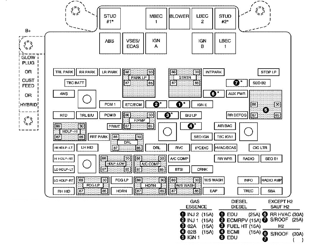 2006 Silverado Tbc Fuse Box Diagram together with Cadillac Escalade Ext Wiring Diagram together with Cadillac Deville Abs Diagram moreover Mk2 Fuse Box Diagram in addition 2002 Cadillac Escalade Ride Control Fuse Location. on cadillac escalade mk2 second generation 2002 fuse box diagram