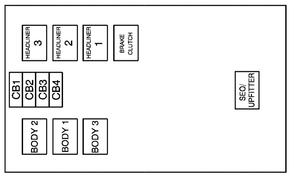 cadillac escalade mk third generation fuse box diagram cadillac escalade mk3 third generation 2007 fuse box diagram