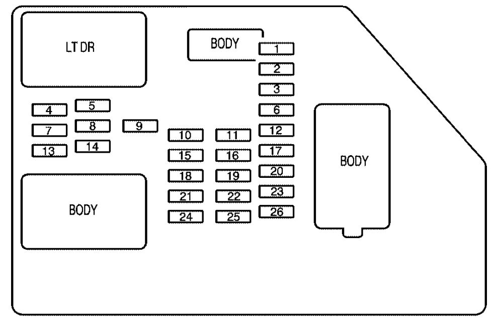 2008 Cadillac Cts Fuse Diagram Wiring Diagram