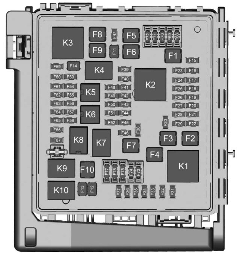gmc acadia (2018) - fuse box diagram - auto genius 2014 gmc acadia fuse diagram #6