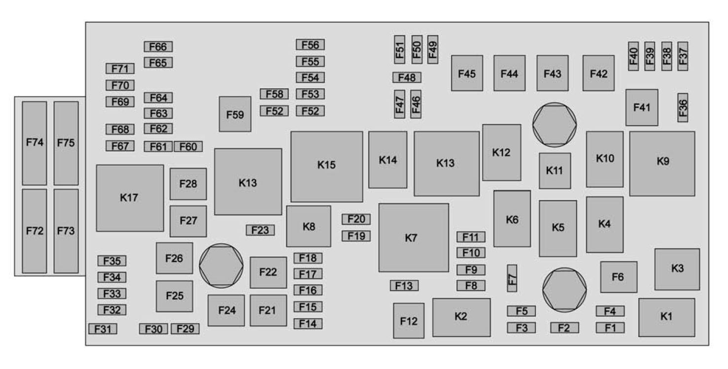 2015 dodge ram 2500 fuse box diagram