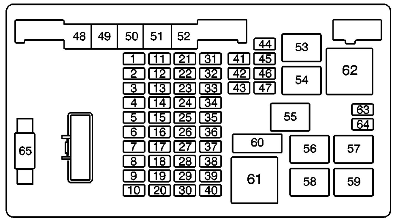 Chevy Express 3500 Turning Fuse Box Diagram on 2004 chevy avalanche fuse diagram