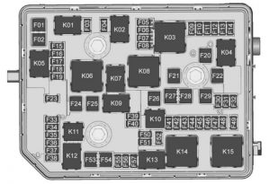 Buick Envision - fuse box - engine compartment