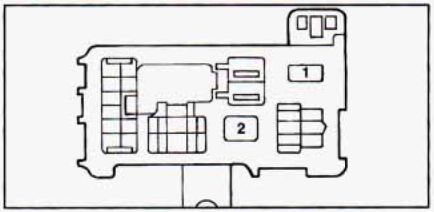 geo prizm (1990 1995) fuse box diagram auto genius Geo Tracker Fuse Panel Diagram