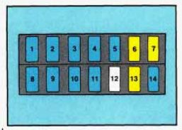 Geo Tracker (1993 – 1995) – fuse box diagram | Auto Genius