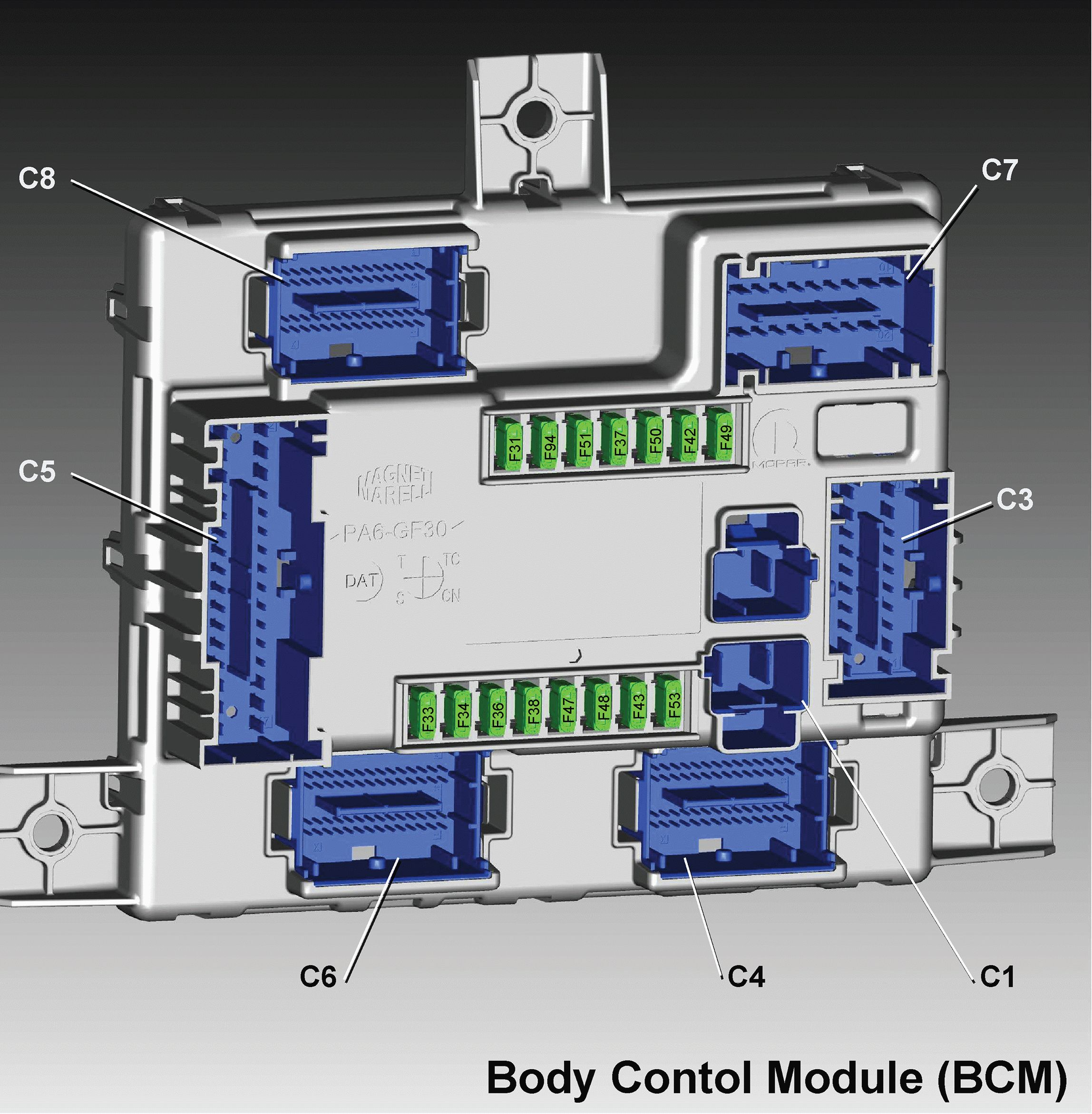 Alfa Romeo Giulia 2016 2018 Fuse Box Diagram Auto Genius Econoline E 450 Body Control Module Bcm