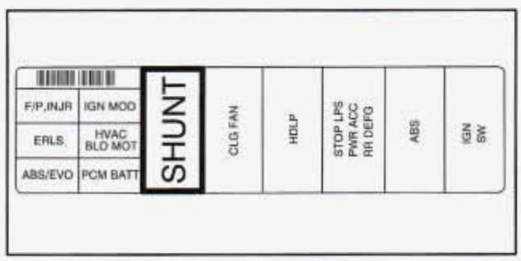 Buick Skylark 1996 1997 fuse box diagram Auto Genius