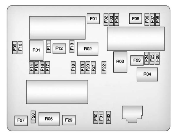 2012 Buick Verano Fuse Box Diagram