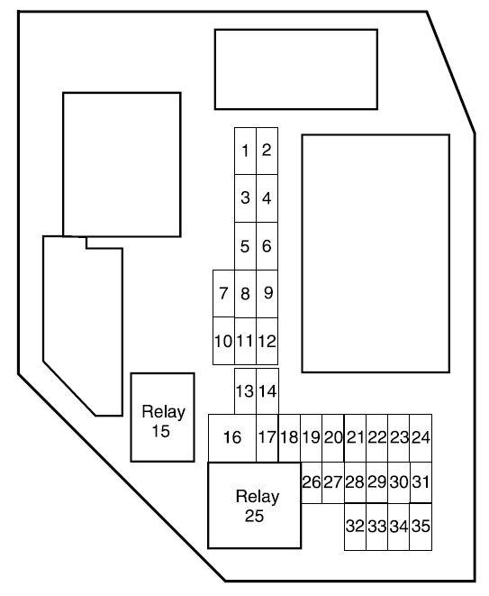 Ford Ranger 2009 Fuse Box Diagram Auto Genius