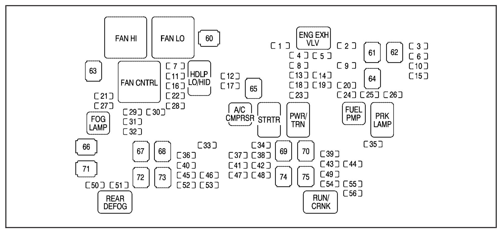 2007 yukon fuse diagram 2007 wiring diagrams online