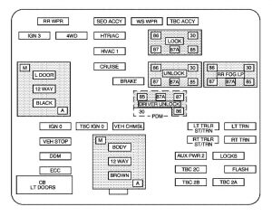 h2 fuse diagram schematic wiring diagram 2005 Hummer H2 Radio