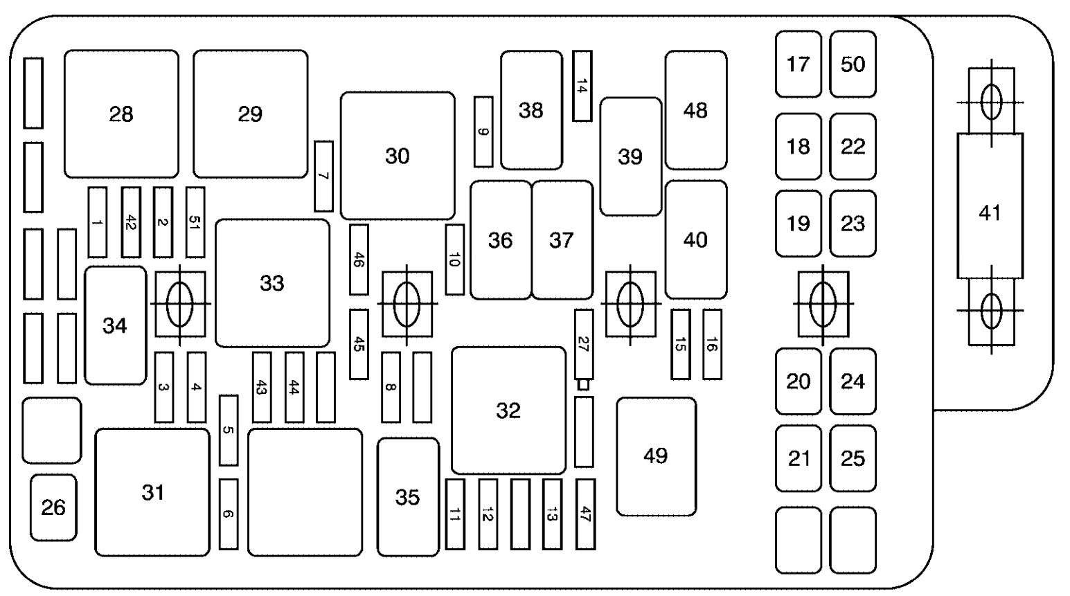 Pontiac G6 2007 Fuse Box Diagram on 2000 toyota tundra fuse diagram