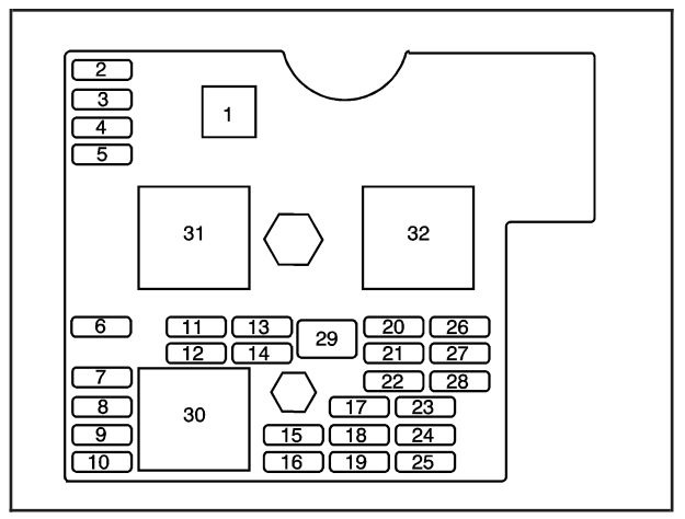 2007 saturn sky floor console fuse box diagram