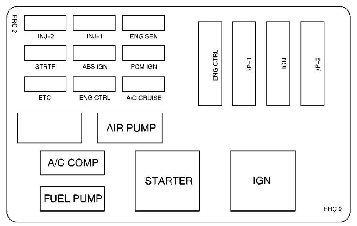 1999 pontiac firebird engine diagram
