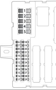 saab 9 3 2005 fuse box diagram auto genius. Black Bedroom Furniture Sets. Home Design Ideas