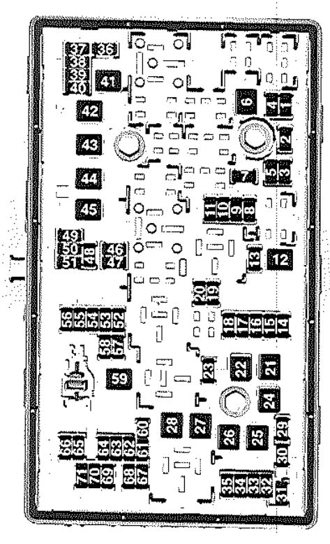 1999 saab 9 5 fuse box diagram saab 9-5 (2010) - fuse box diagram - auto genius