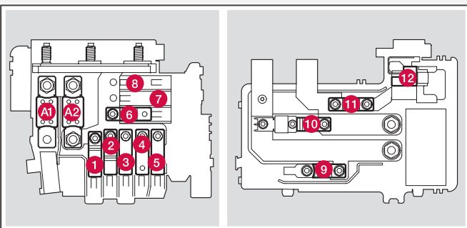 volvo s90 fuse box engine compartment cold zone start stop only volvo s80 mk2 (second generation; 2015) fuse box diagram auto Volvo Truck Fuse Box at aneh.co
