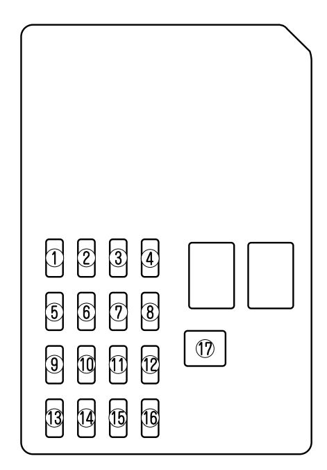 mazda 6 (2004) – fuse box diagram