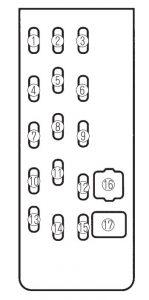 mazda protegé (2002 2003) fuse box diagram auto genius mazda 3 fuse box location mazda protegé (2002 2003) fuse box diagram