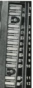 Volvo 140 - fuse box - instrument panel