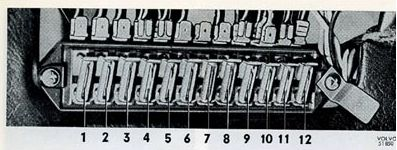 volvo 1800 1971 1972 fuse box diagram auto genius rh autogenius info Electrical Panel Fuse Box vs Breaker Box
