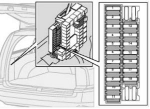 Volvo       S60    mk1  First Generation  2002      fuse    box    diagram
