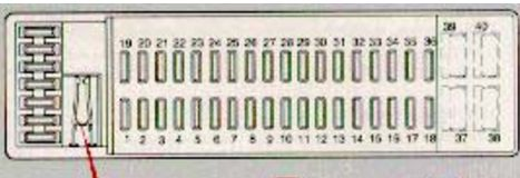 volvo v70 fuse box supplementary box volvo v70 mk1 (first generation; 1998) fuse box diagram auto volvo v70 fuse box diagram at mifinder.co