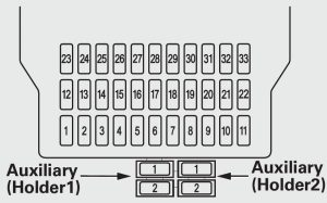 acura mdx 2012 2013 fuse box diagram auto genius rh autogenius info 2012 acura mdx fuse box location Acura MDX Fuse Locations