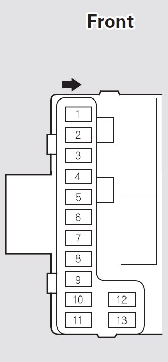 acura mdx 2005 2006 fuse box diagram auto genius. Black Bedroom Furniture Sets. Home Design Ideas