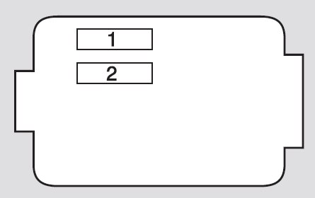 acura rdx fuse box under hood secondary 2009 acura rdx (2011 2012) fuse box diagram auto genius