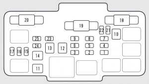 honda element  2011  fuse box diagram auto genius