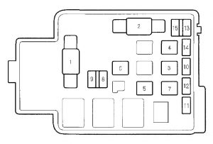 honda cr v (2000 2001) fuse box diagram auto genius 2001 honda crv back glass 2001 honda crv fuse box #6