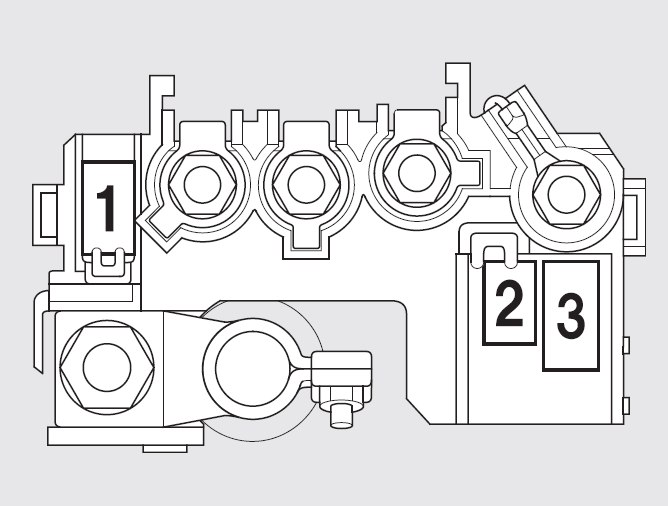 Honda Fit (2009 - 2010) - fuse box diagram - Auto GeniusAuto Genius