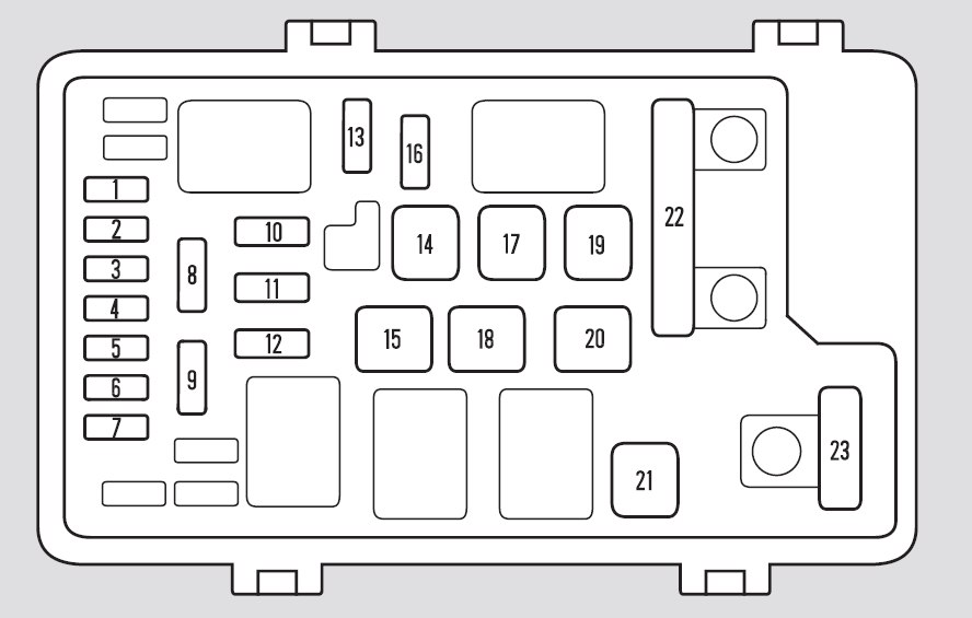 honda odyssey 2005 fuse box diagram auto genius. Black Bedroom Furniture Sets. Home Design Ideas