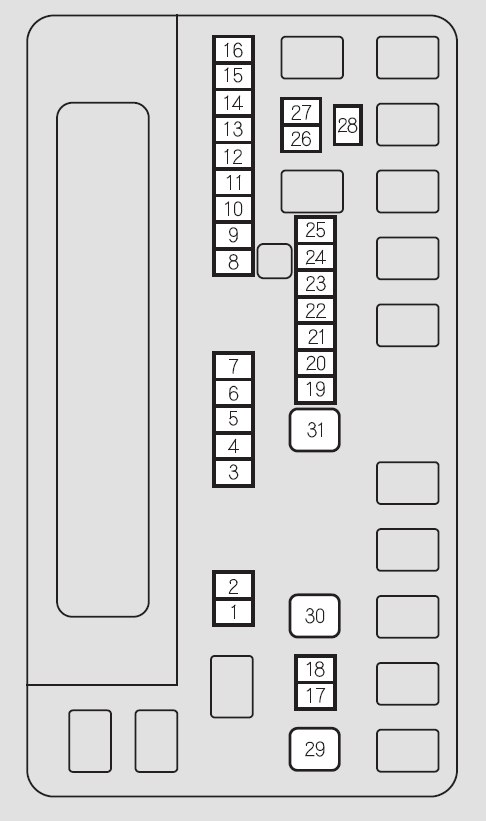 Honda Odyssey 2011 Fuse Box Diagram on auto ignition diagram
