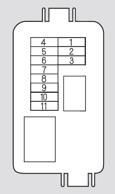 honda odyssey 2008 2010 fuse box diagram auto genius
