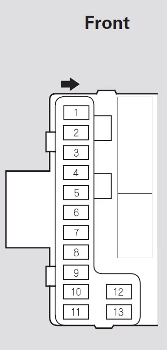 honda pilot (2003) – fuse box diagram